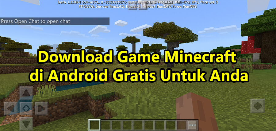 Download Game Minecraft di Android Gratis Untuk Anda