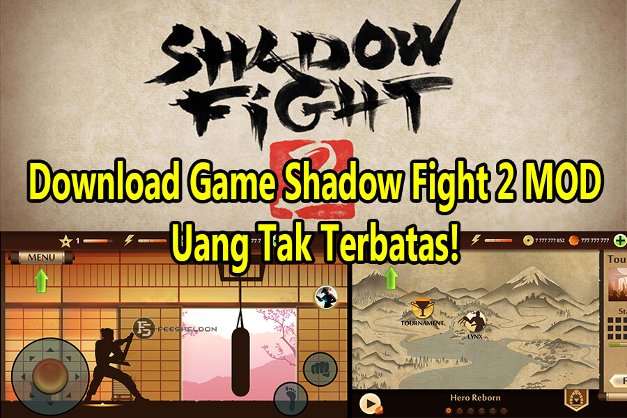 Download Game Shadow Fight 2 MOD, Uang Tak Terbatas!