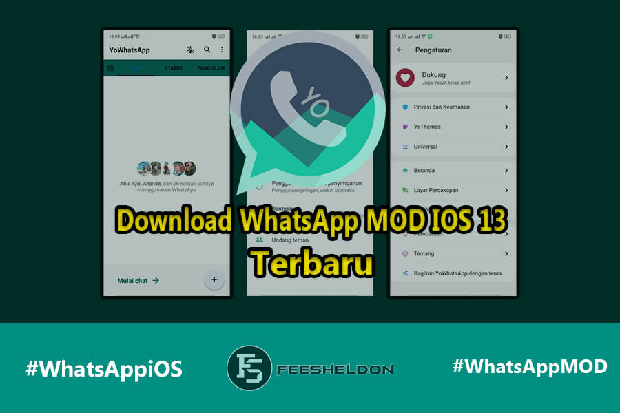 Download WhatsApp MOD IOS 13