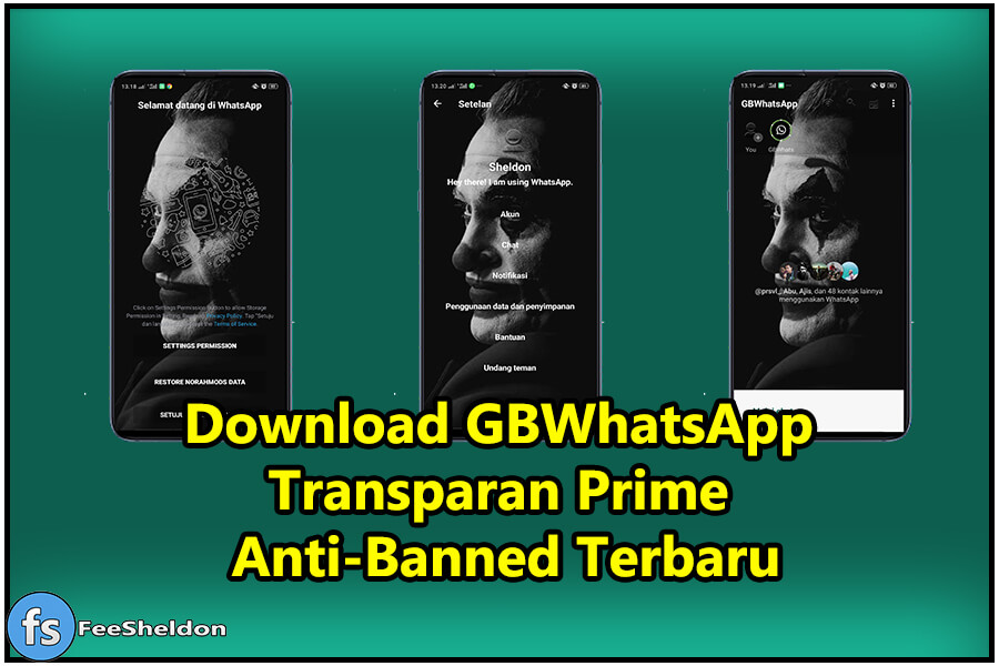 Download GBWhatsApp Transparan Prime Terbaru