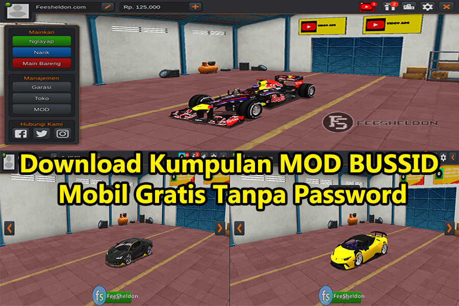 Download Kumpulan MOD BUSSID Mobil Gratis Tanpa Password