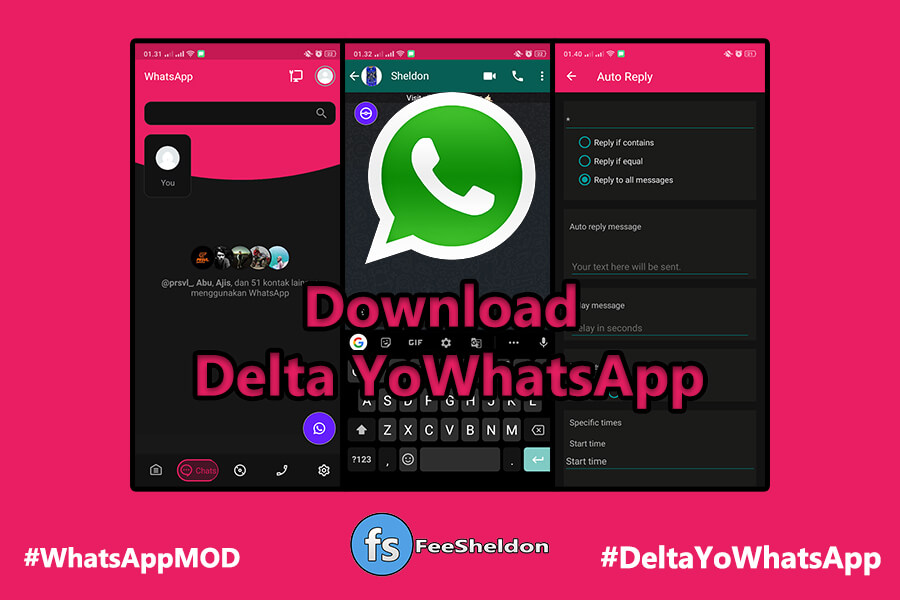 Download Delta YoWhatsApp Anti Banned