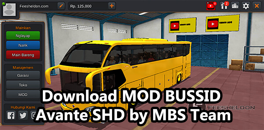 Download MOD BUSSID Avante SHD by MBS Team