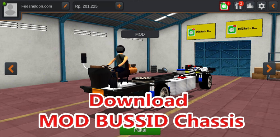 Download MOD BUSSID Chassis