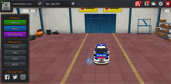 Mobil Polisi by Zilla