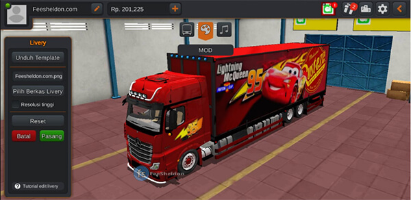 Truck Mercedes-Benz New Actross by RSM Garage
