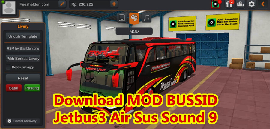Download MOD BUSSID Jetbus3 Air Sus Sound 9
