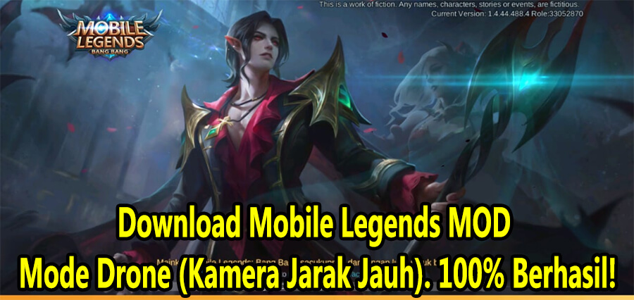 Download Mobile Legends MOD Mode Drone