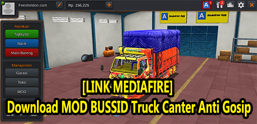 [LINK MEDIAFIRE] Download MOD BUSSID Truck Canter Anti Gosip