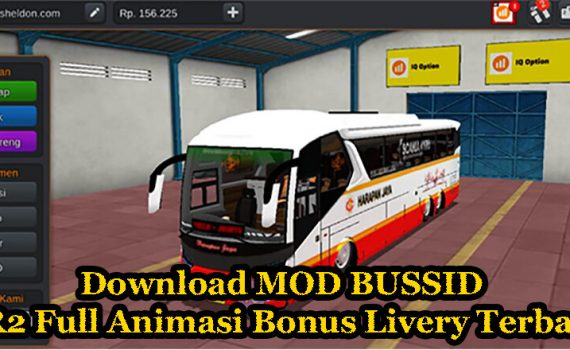 Download MOD BUSSID SR2 Full Animasi Bonus Livery Terbaru