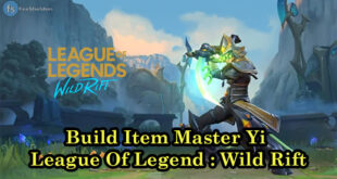 Build Item Master Yi League Of Legend