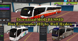 Download MOD BUSSID Bus Evolander HD by Rull Hyden