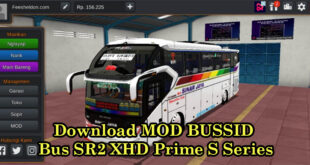 Download MOD BUSSID Bus SR2 XHD Prime S Series