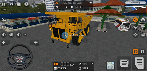Cat Dump Truck by MAH Channel - Feesheldon