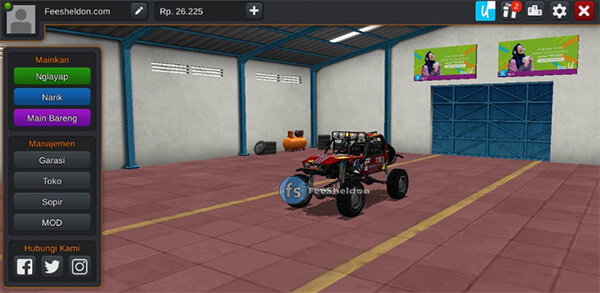 Dune Buggy 4x4 Offroad by MAH Channel - Feesheldon